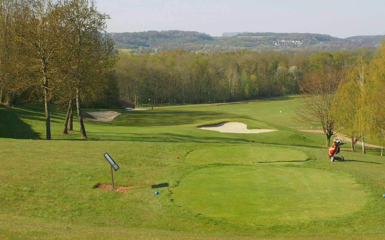 Golf of the 4 star luxury hotel in Picardie