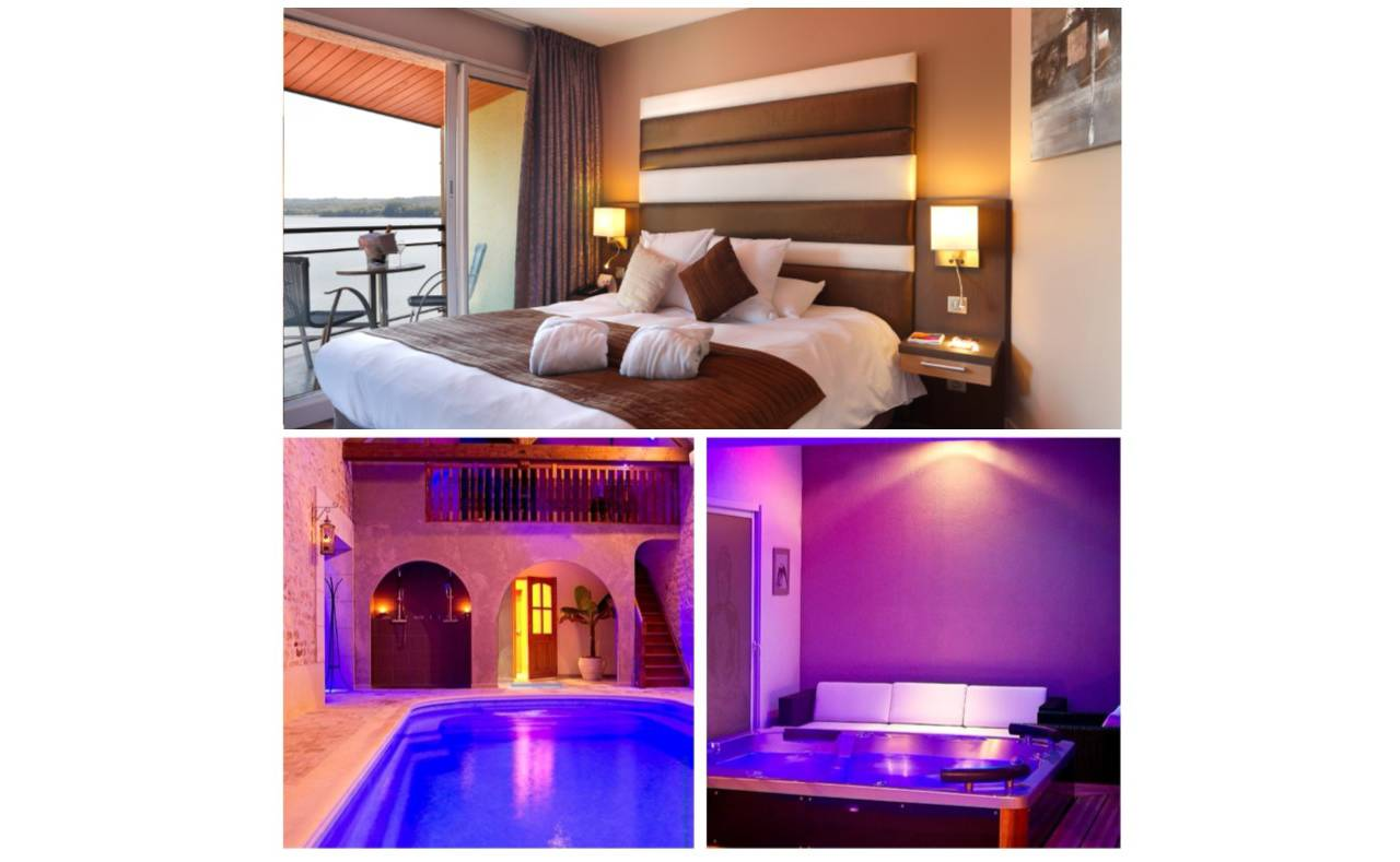 Accommodation and Balneo at the 4-star luxury hotel in Reims