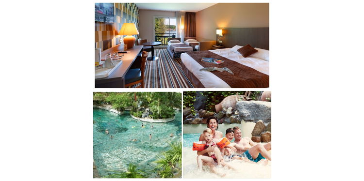 Family offer, activity and accommodation at the hotel with swimming pool in Reims