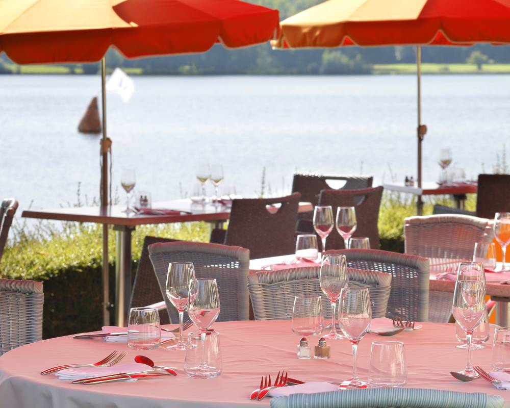Hotel restaurant Laon lakeside