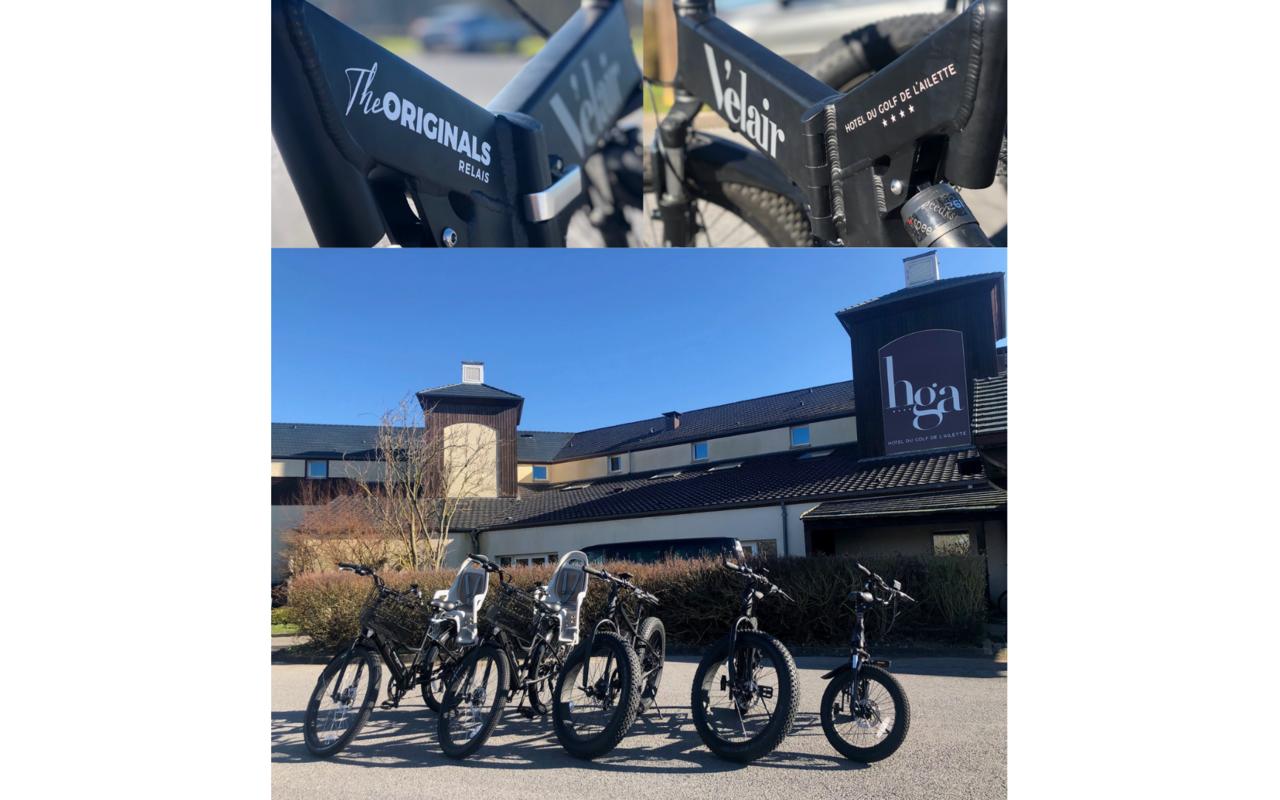 Rental bike Hotel Laon