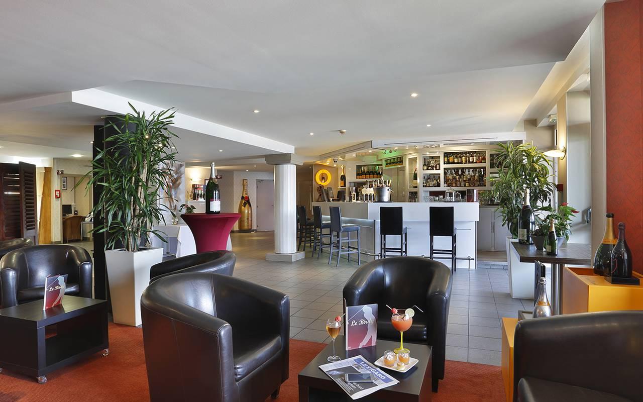 Reception de l'hôtel de charme 4 étoiles à Reims