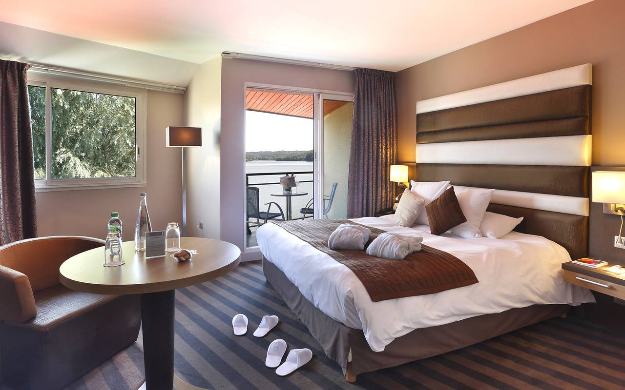 Chambre de l'hôtel de luxe en Picardie