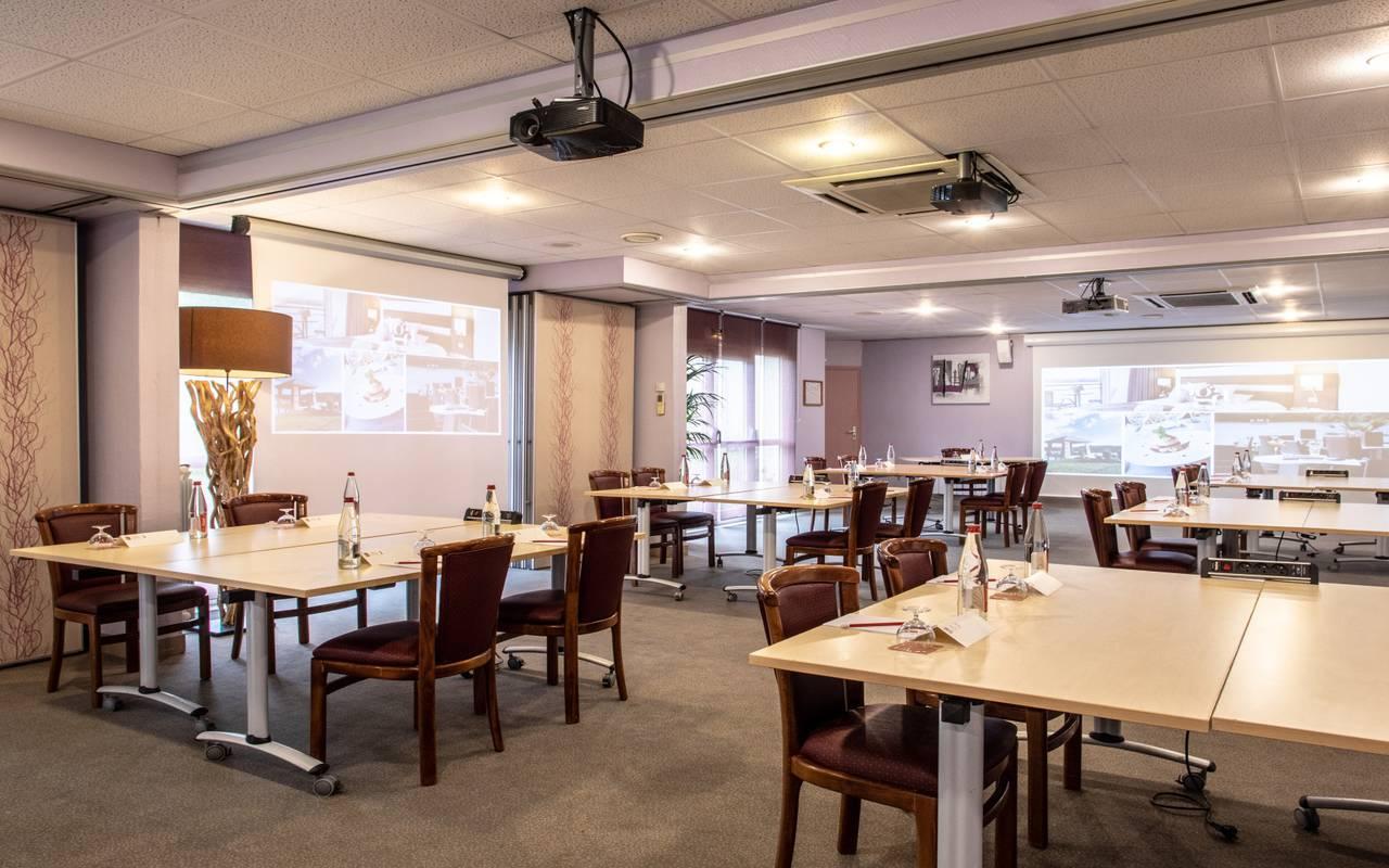 Salle événement professionnel hôtel Laon